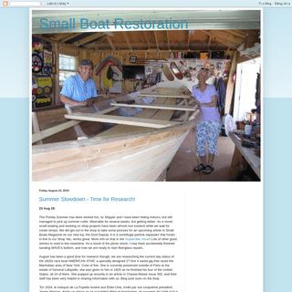 Small Boat Restoration
