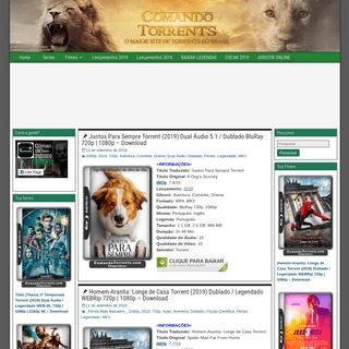 Comando Torrents - Baixar Filmes Series via Torrent Dublado Dual Áudio