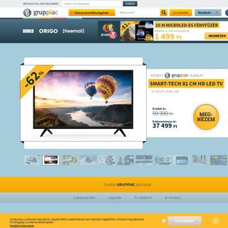 Gruppiac.hu - akció, közösségi vásárlás, olcsó, közösségi vásárlói oldal, akciós vásárlás, árengedmény, leé