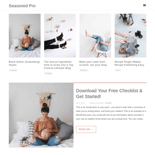Seasoned Pro - Genesis Theme for Bloggers