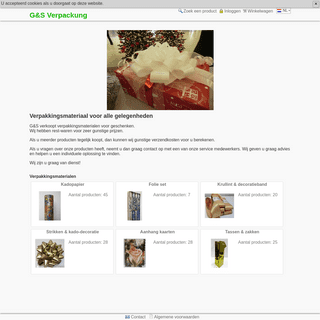 G&S Verpackung - Verpakking thema's