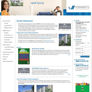 Wohnungsbaugenossenschaft VORWÄRTS eG – citynah und günstig