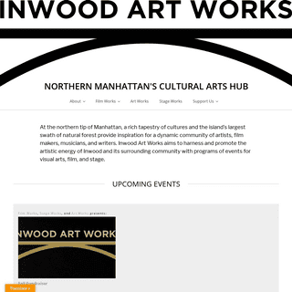 Inwood Art Works – Northern Manhattan's Cultural Arts Hub