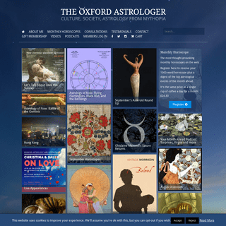 The Oxford Astrologer - Astrology with Integrity