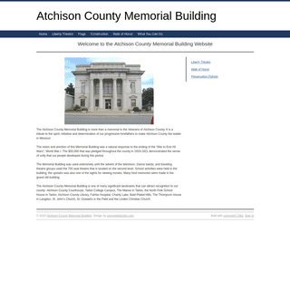 Atchison County Memorial Building -- Home