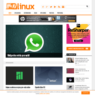 MuyLinux. GNU-Linux. Open Source. Software Libre.