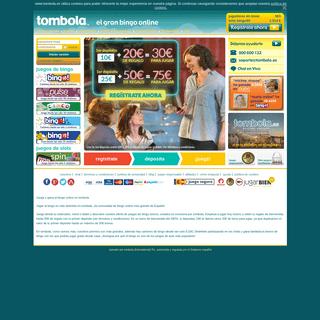 Bingo Online Tombola - Juega y Gana en el Mejor Bingo Online