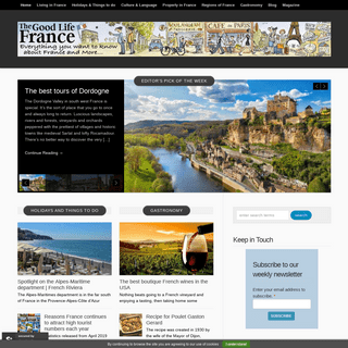 The Good Life France - Everything you ever wanted to know about france and more - The Good Life France