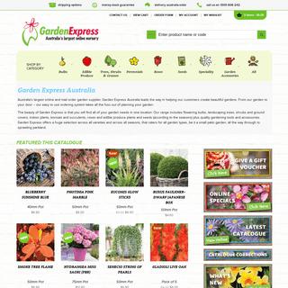 Australia's largest online and mail order garden supplier - Garden Express