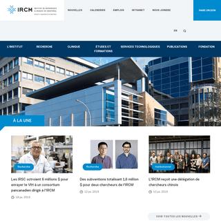 IRCM - Institut de recherches cliniques de Montréal - IRCM