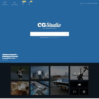 CGStudio - Stock 3D Models & Textures