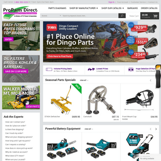 Parts For Lawnmowers - Small Engine Parts Diagrams - ProPartsDirect