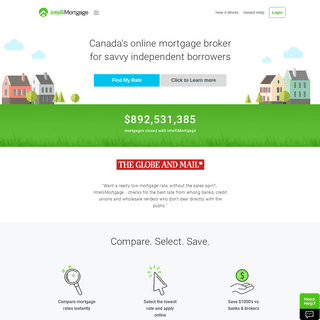 Mortgage Broker with Canada's Best Mortgage Rates - intelliMortgage