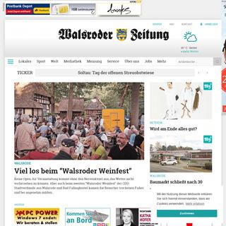 Homepage - Walsroder Zeitung