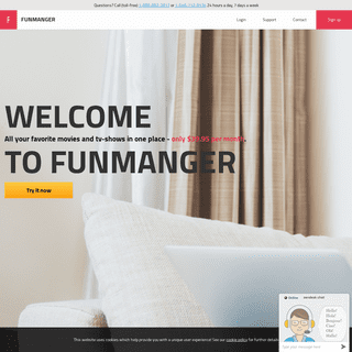 funmanger.com - Unlimited Movies
