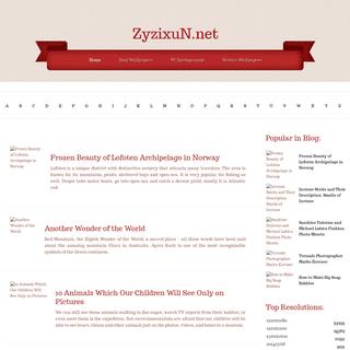 ZyZiXuN.net- Awesome World through a Camera Lens (2017 Photoworks)