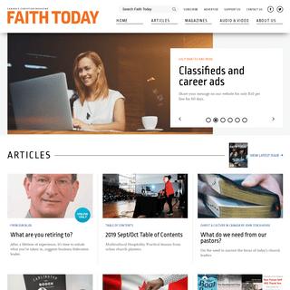 ArchiveBay.com - faithtoday.ca - Canada's Christian Magazine - Christian News Canada - Faith Today