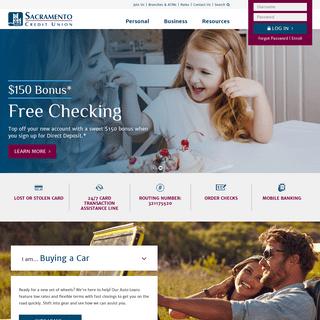 Sacramento Credit Union - California Credit Union