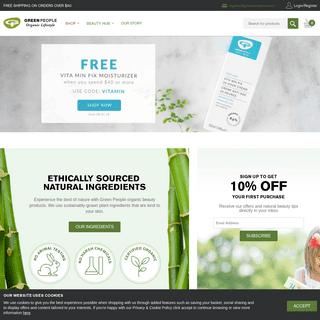 Natural & Organic Beauty - Natural Skin Care - Green People US