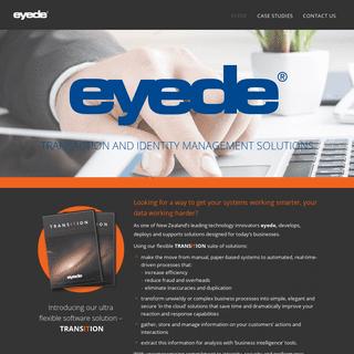 ArchiveBay.com - eyede.com - Eyede - Transaction and Identity Management Solutions
