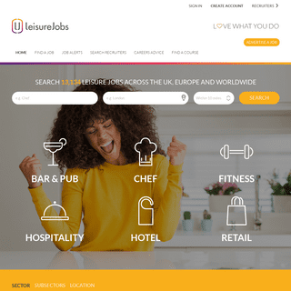 Leisurejobs - Home of Hospitality, Sports & Retail Jobs in the UK