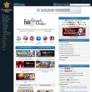 Fate-Grand Order Wiki