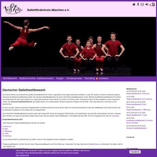 Deutscher Ballettwettbewerb - Ballettförderkreis München e.V.