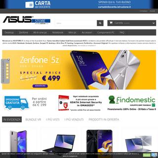 Asus Store - Asustore.it - Vendita Online Notebook, Zenfone, Zenbook, Zenpad, PC ASUS - Asus Store - Lo Shop Online ASUS
