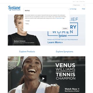 Dry Eye Symptom Relief and Eye Care Information - systane.com