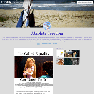 ArchiveBay.com - absolutefreedom001.tumblr.com - Absolute Freedom