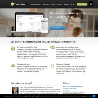 Heltäckande affärssystem för Rut- och städföretag - TimeWave