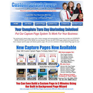 ArchiveBay.com - customsplashpages.net - Lead Capture Pages - Capture Page - Custom Splash Pages