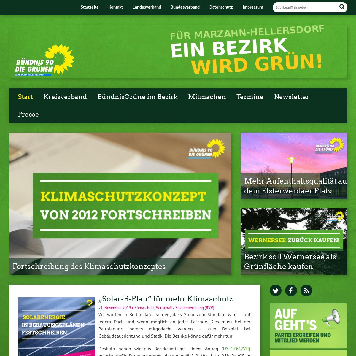 Startseite - Bündnis 90 - Die GrünenBündnis 90 - Die Grünen