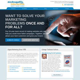 Digital Marketing Agency - SEO Boston MA - McDougall Interactive