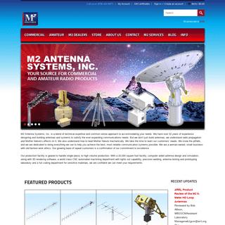 ArchiveBay.com - m2inc.com - M2 Antenna Systems, Inc.