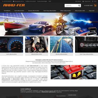 Akkumulátor szaküzlet és webáruház. Vásároljon kényelmesen otthonról kedvező árakon. - Autó-Motor-Akkumulátor Webá