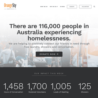 ArchiveBay.com - orangesky.org.au - Orange Sky Australia - Positively Connecting Communities