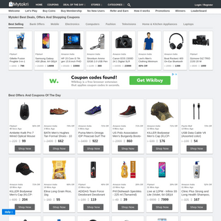 Mytokri - Best Deals, Coupons, Promo Code & Shopping Offers 2019