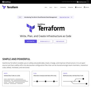 ArchiveBay.com - terraform.io - Terraform by HashiCorp