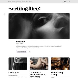 writing dirty literary erotica (hopefully)