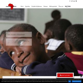 GEMEINSAM FÜR AFRIKA – GEMEINSAM FÜR AFRIKA