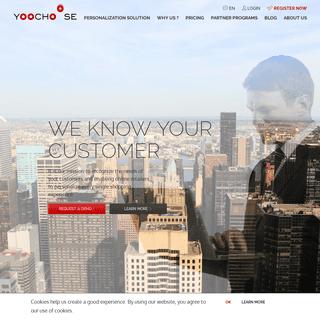 YOOCHOOSE Personalization Solution