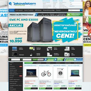 Laptopovi, računari, digitalni fotoaparati, televizori, gps navigacija, oprema - Jakov Sistem Online Shop
