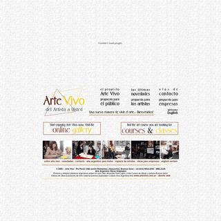 ArchiveBay.com - artevivo.com.ar - Arte Argentino Pintores Artistas plásticos argentinos Arte vivo Argentina Pintura en vivo Compra Obra de Arte Oleo, Acuarela, A