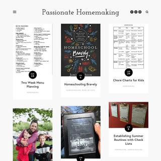 ArchiveBay.com - passionatehomemaking.com - Passionate Homemaking