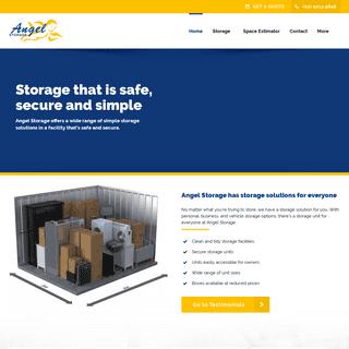 Sydney Self Storage- Chiswick & Abbotsford Units - Angel Storage