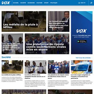 Vox Congo - Toute l'actualité du Congo Brazzaville