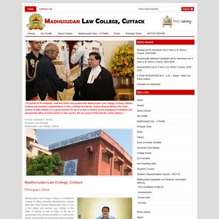 Madhusudan Law College