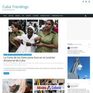 Cuba Trendings