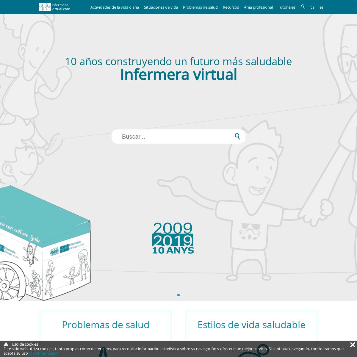 Un portal de salud del Col·legi d'Infermeres i Infermers de Barcelona